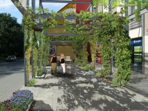 I malý zásah může zvýšit kvalitu městského prostoru (foto: autor)